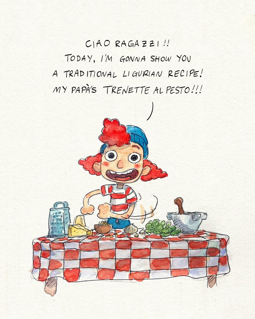 Giulia Marcovaldo, personaje Luca