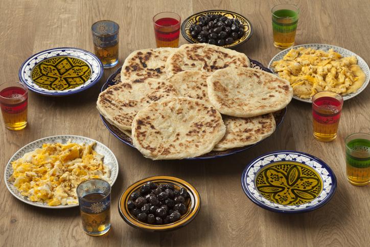 Desayunos en Marruecos