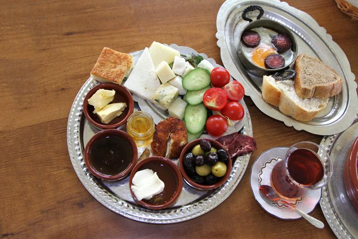 Desayunos tradicionales en Turquía
