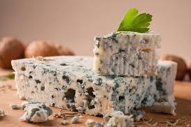 pedazo de queso gorgonzola